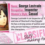 Walkthrough – Guard Me, Sherlock! – George Lestrade