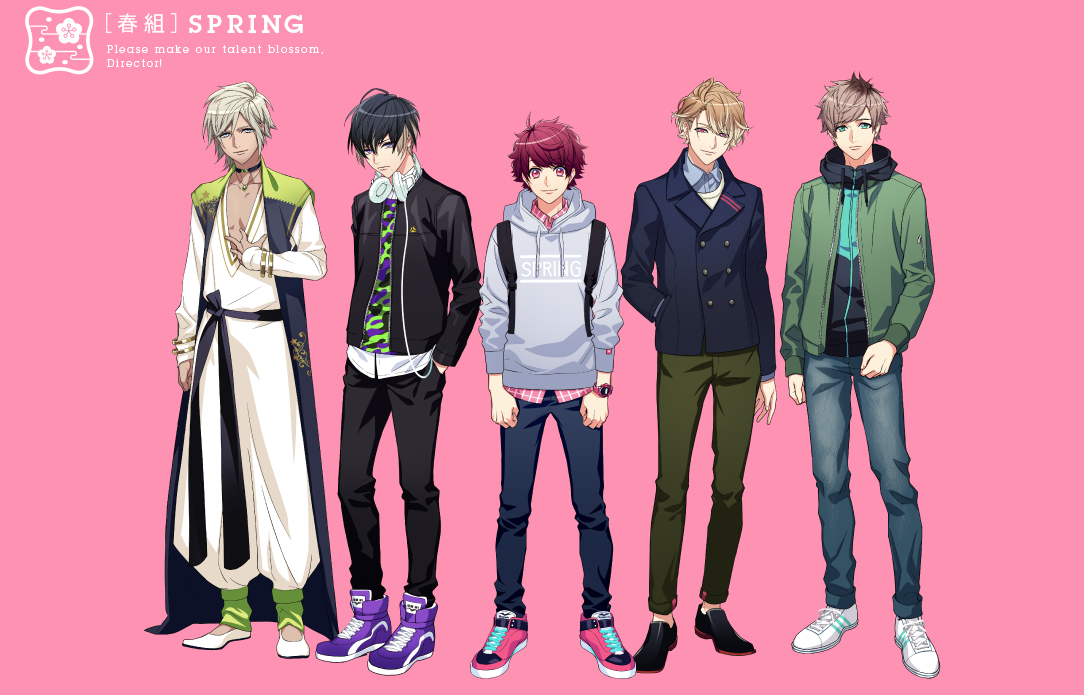 A3 Spring Troupe
