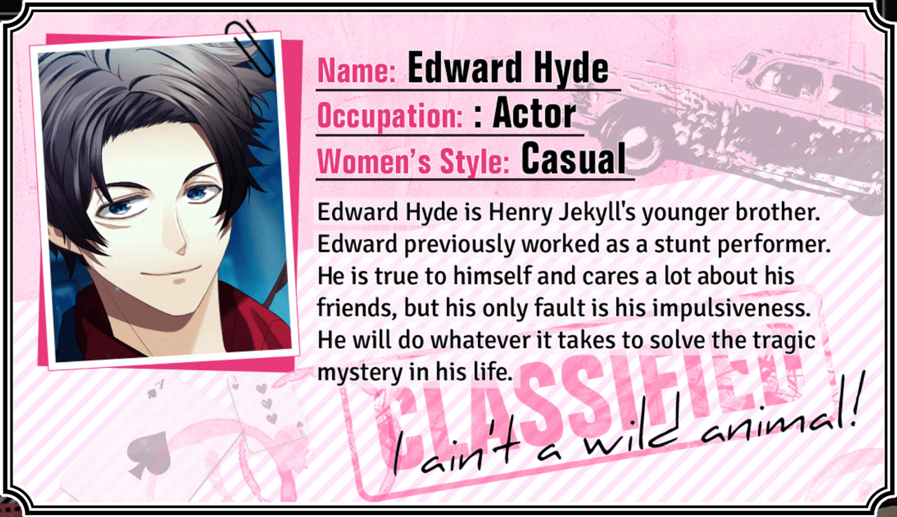 Edward Hyde Graphic