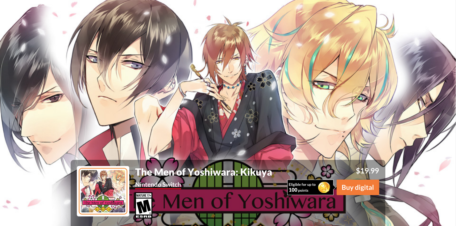 Check out these Otome Games on Nintendo Switch - Otome Obsessed