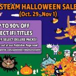 Idea Factory International Halloween Steam Sale