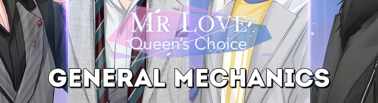 Mr  Love: Queen's Choice - General Mechanics - Otome Obsessed